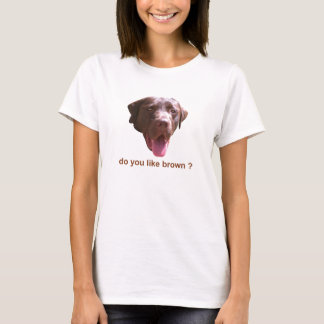 好みます茶色をか。 Tシャツ