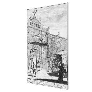 好み、かバーリントンのゲート1732年 キャンバスプリント