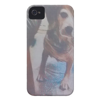 好奇心が強いビーグル犬 Case-Mate iPhone 4 ケース