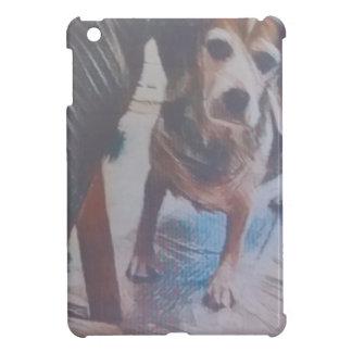 好奇心が強いビーグル犬 iPad MINI カバー