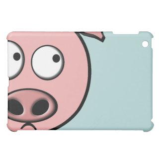 好奇心が強いブタのパッド iPad MINI カバー