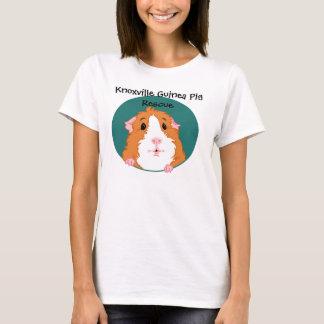 好奇心が強いモルモットのTシャツ Tシャツ