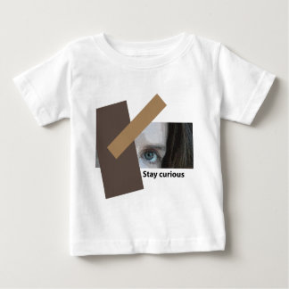 好奇心が強い滞在 ベビーTシャツ