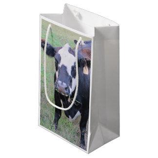 好奇心が強い牛 スモールペーパーバッグ