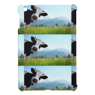 好奇心が強い牛 iPad MINIケース