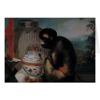 好奇心が強い猿の~のカード/招待状 カード