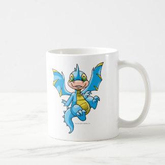 好奇心が強く青いScorchio コーヒーマグカップ