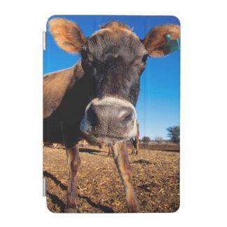 好奇心にあふれているがあっているジャージー牛 iPad MINIカバー