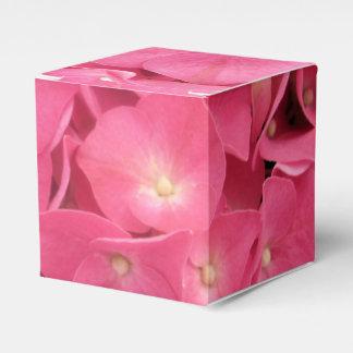 好意かギフト用の箱-暗いピンクのアジサイ フェイバーボックス