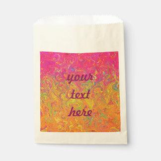 好意は流動色を袋に入れます フェイバーバッグ