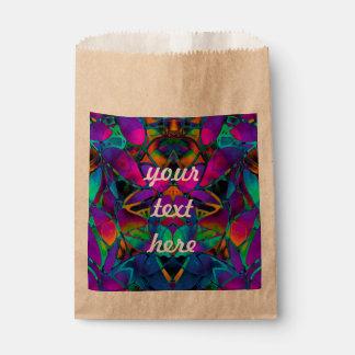 好意は花のフラクタルの芸術を袋に入れます フェイバーバッグ