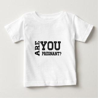 妊娠していますか。 ベビーTシャツ