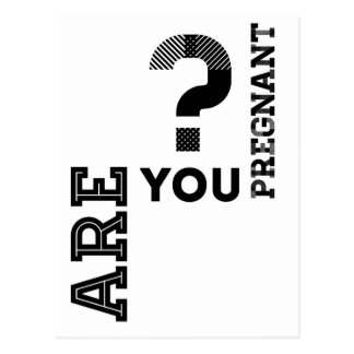 妊娠していますか。 ポストカード