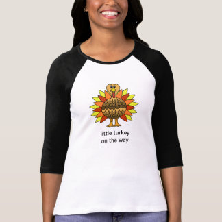 妊娠の発表の感謝祭 Tシャツ