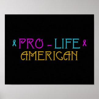 妊娠中絶反対のアメリカ人 ポスター