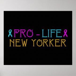 妊娠中絶反対のニューヨーカー ポスター
