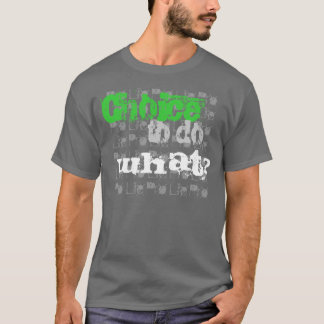 妊娠中絶反対の人のワイシャツ Tシャツ