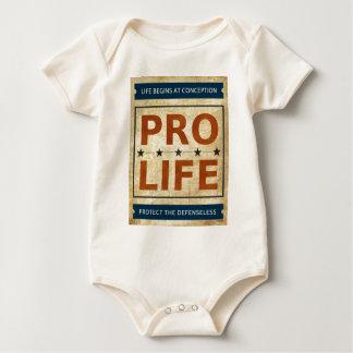 妊娠中絶反対の掲示板 ベビーボディスーツ