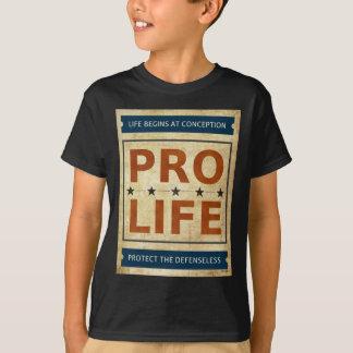 妊娠中絶反対の掲示板 Tシャツ