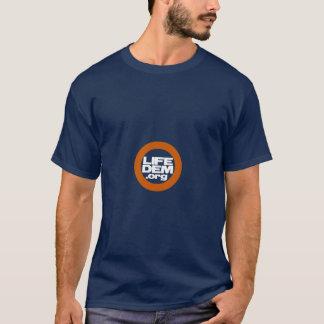 妊娠中絶反対の民主党員 Tシャツ