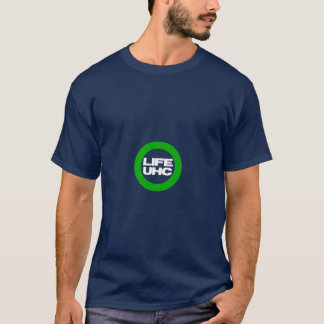 妊娠中絶反対及び親UHC (普遍的なヘルスケア) Tシャツ