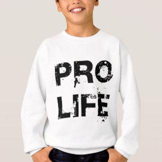 妊娠中絶反対 スウェットシャツ
