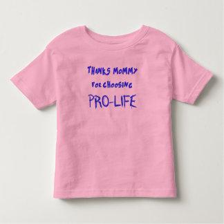 妊娠中絶反対 トドラーTシャツ