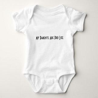 妊娠中絶反対 ベビーボディスーツ