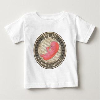 妊娠中絶反対 ベビーTシャツ