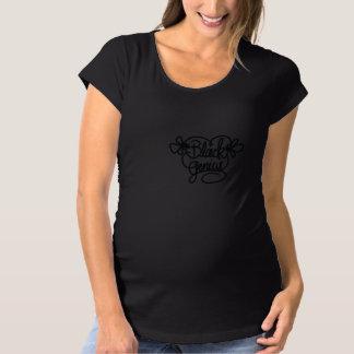 妊婦のな女の赤ちゃん マタニティTシャツ