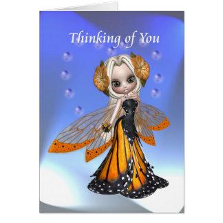 妖精あなたの考えること カード