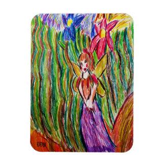 妖精および庭 マグネット