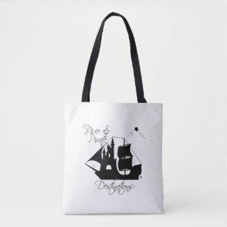 妖精および海賊行先のトートバック トートバッグ
