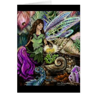 妖精およびNewtの友人 グリーティングカード