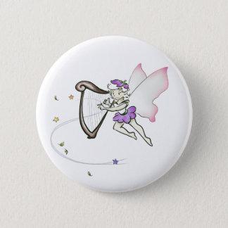 妖精のハープ奏者 5.7CM 丸型バッジ