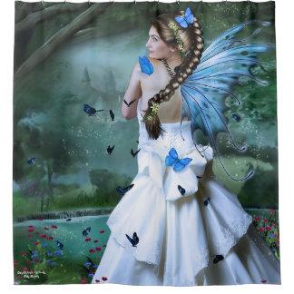 妖精のファンタジー シャワーカーテン
