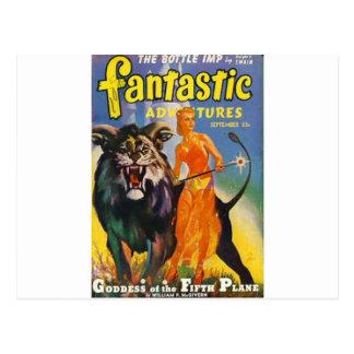 妖精のプリンセスおよび彼女の獣 ポストカード