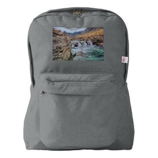 妖精のプール、壊れやすい谷間Skyeの島 American Apparel™バックパック