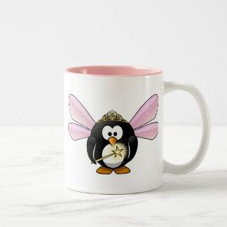 妖精のペンギン ツートーンマグカップ