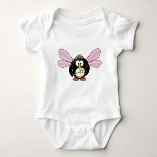妖精のペンギン ベビーボディスーツ