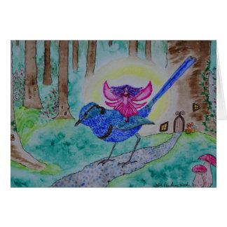 妖精のミソサザイ カード