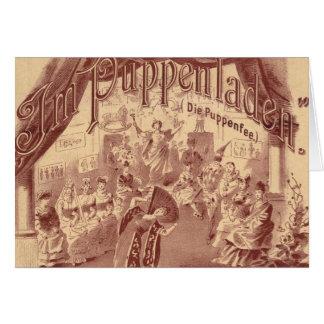 妖精の人形のバレエ- Puppenfee死にます-ヨセフバイヤー カード