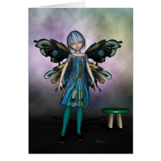 妖精の人形エマ-挨拶状 カード