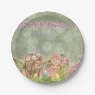 「妖精の友人」の紙皿 ペーパープレート