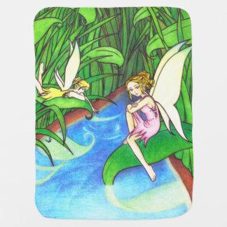 妖精の国の物語のベビーブランケット ベビー ブランケット