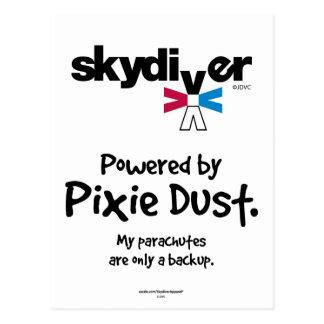 妖精の塵によって動力を与えられる ポストカード