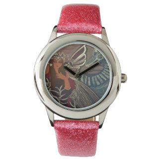妖精の女王およびドラゴン 腕時計