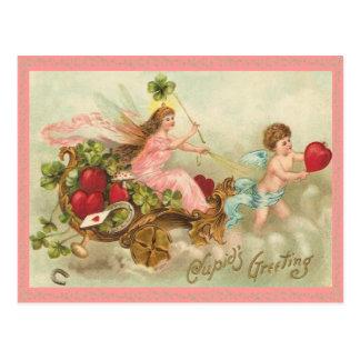 妖精の女王のバレンタインの郵便はがき はがき