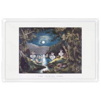 妖精の家の皿 アクリルトレー