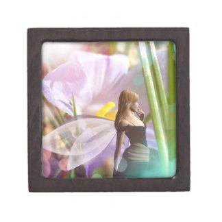 妖精の庭の魔法の宝石類の装身具の記念品箱 ギフトボックス